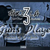 Thrilla Feat By-justin And Nell-Brown - Guns Player