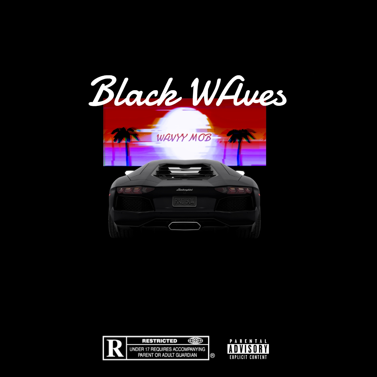 Wavyy Mob - Black Waves