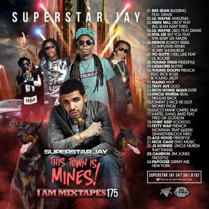 Superstar Jay - Iam Mixtapes 175