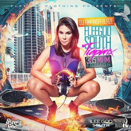 DJ Amanda Blaze - Flee God South Trap Miami
