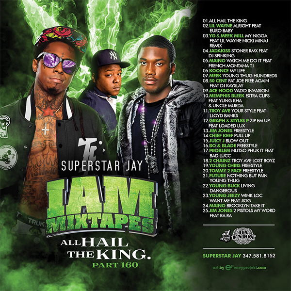 Superstar Jay I am mixtapes 160